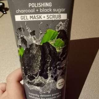 Freeman polishing charcoal+black sugar gel mask
