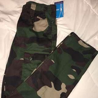 Camo pants