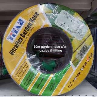 TITAN Garden Hose Reel Set on Promotion @ FairPrice Xtra Outlets