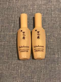 Sulwhasoo Gentle Cleansing Foam and Oil 15ml