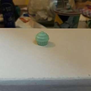 Miniature Item (Blue Cupcake)