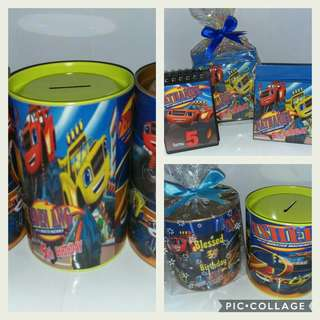 Goodie Bags ~ Customised Blaze & The Monster Machine Theme