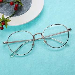 LASTPIECE🔥 Pink Rim Glasses BN INSTOCK Oblique No Degree Metal Common