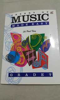 Music theory made easy grade 7
