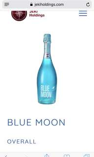 Blue moon 🌓 星空酒 藍色 wine of fire  🇪🇸 買三送一