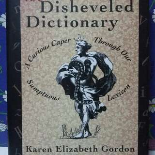 The Disheveled Dictionary