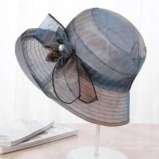 💃 [微分享*淘GO] 夏季大沿遮陽可折疊時尚太陽防曬旅遊帽Q7 👒