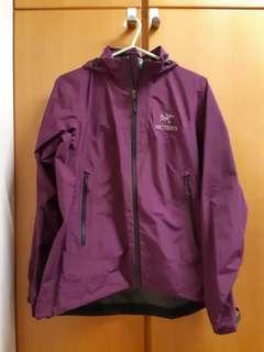 ARCTERYX女裝紫色Goretex外套(請留意內容)