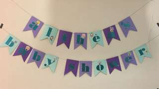 Customised Party Bunting