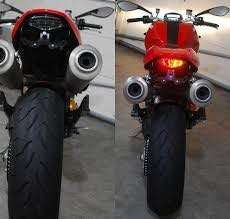 Ducati Monster Integrated Tail Light