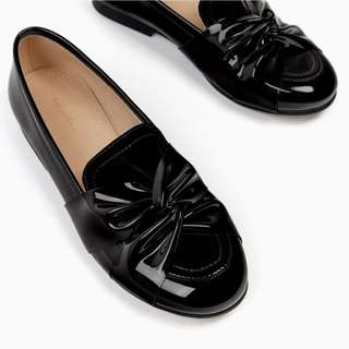 Brand New Zara Girls Patent Leather Shoes