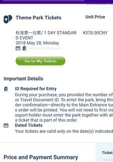 Travelling to Shanghai Disneyland on 28 May 2018?