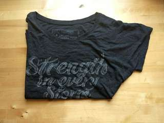 Sevenly Strength in Every Storm Raglan T