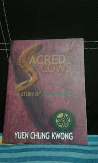#blessing  SACRED cows  A STUDY OF ASIAN VALUES YUEN CHUNG KWONG  PAY $2 FOR POSTAGE