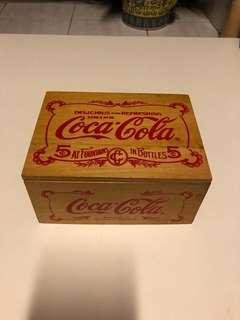 懷舊可樂木盒