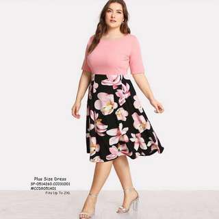 PLUS SIZE DRESS  Fits Up To 2XL  Price : 450