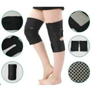 1Pair Self-Heating Magnetic Tourmaline Therapy Knee Support