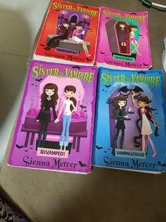 My Sister the Vampire - Sienna Mercer