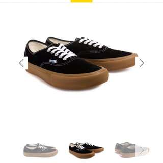 徵  Vans authentic pro 焦糖底