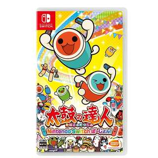 Nintendo Switch Game 太鼓の達人 Taiko no Tatsujin Switch Version (Pre-Order)