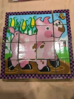 Melissa and Doug Chunk puzzle