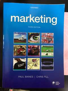 Marketing 3rd edition