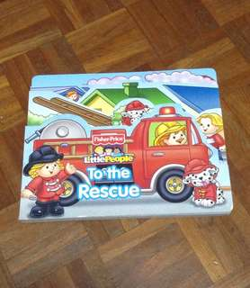 Fisherprice board book: Little people to the rescue
