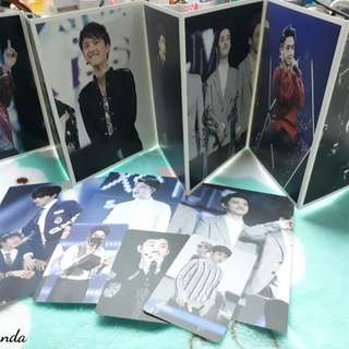 EXO D.O. Postcard and Photocard Set (from DOH Heart Fansite)