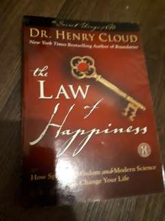 The Law of Happiness book by Dr. Henry Cloud