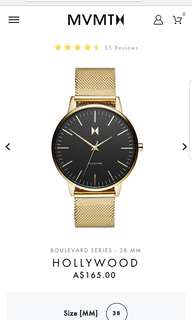 MVMT Hollywood Womans Watch