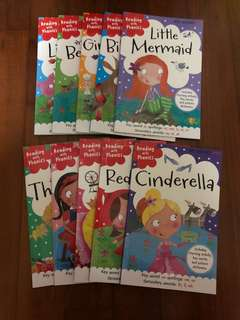 Reading with Phonics (10 fairy tales titles)