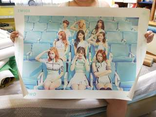 [INSTOCK] Twice Page Two Poster (Turquoise)