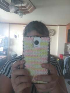 Crocheted mobile phone case! For all phones!