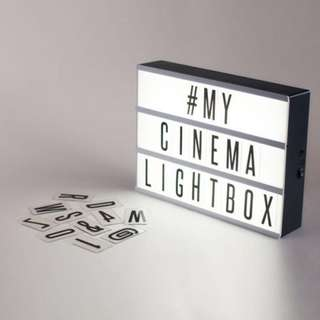*Light Box