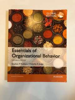 Essential of Organisational Behaviour