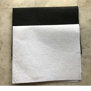 Large Size 50cm x 40cm Felt Fabric DIY Arts and Craft  Material