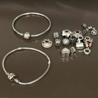 Pandora Bracelet Charms Bangle