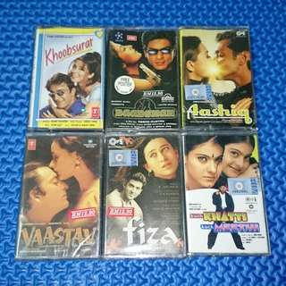 🆒 Assorted Bollywood OST Hindi Cassettes