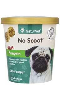 [IN-STOCKS] NaturVet No Scoot Plus Pumpkin Soft Chew