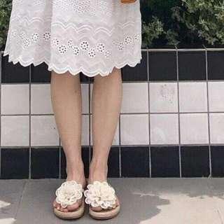 🚚 5/25收單♥立體花朵拖鞋
