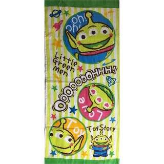 全新三眼仔毛巾 Brand new Little Green Men Towel
