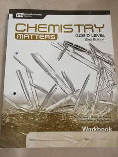 Chemistry Matters 2nd Edition Workbook