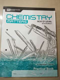 Chemistry Matters 2nd Edition Practical Book