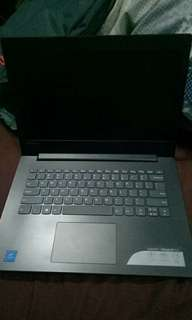 1 week used only Lenovo Laptop
