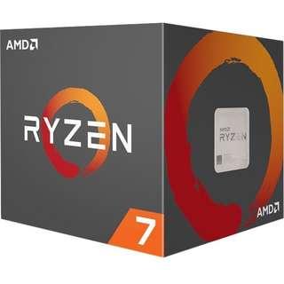 全新AMD RYZEN 7 1700