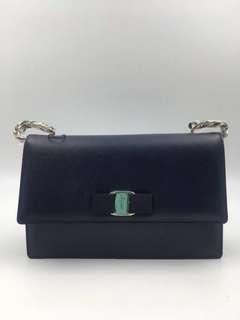 Ferragamo Vara Medium Shoulder Bag