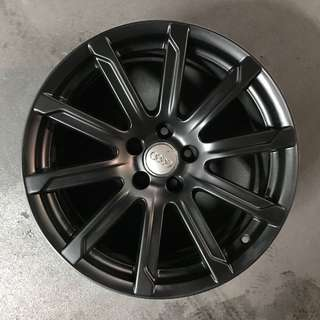 "Used 18"" Original Audi Rims"
