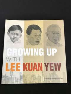 Brand new comic book: Growing Up with Lee Kuan Yew