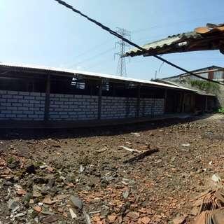 depok tanah & bangunan 600m