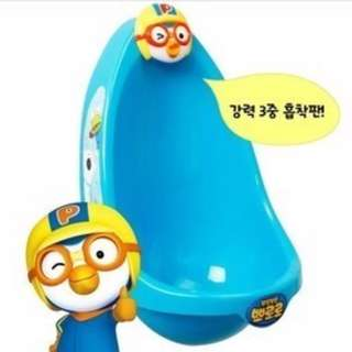 Pororo Penguin Boys Training Urinal★Pee Trainer★Toy★Potty★Toilet Training★Urine Seat Bowl★Children Toddler